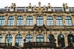 Zwinger courtyard Stock Photos