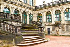Zwinger courtyard. In Dresden, Germany Royalty Free Stock Images