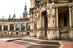 Zwinger courtyard. In Dresden, Germany Royalty Free Stock Image