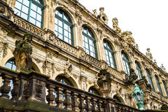 Zwinger courtyard Royalty Free Stock Photo