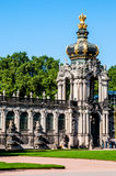 zwinger de Dresde Photos stock