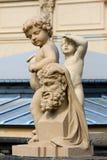 Zwinger & x28; Der Dresdner Zwinger& x29; дворец в Дрездене, easte Стоковое фото RF