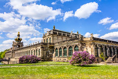 Zwinger a Dresda immagine stock