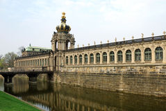 Zwinger (Dresden) Royalty Free Stock Photo