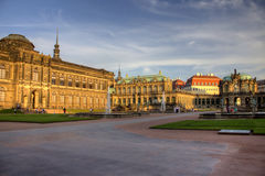 Zwinger Dresden Royalty Free Stock Photo