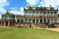 Zwinger in Dresden Stock Image