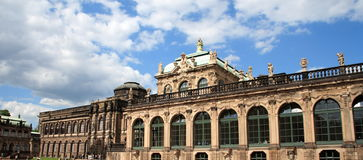 Zwinger of Dresden Stock Photo