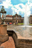 Zwinger - Dresden complex of four buildings on a sunny day, Germany Stock Image