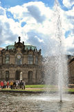 Zwinger - Dresden complex of four buildings on a sunny day, Germany Royalty Free Stock Image