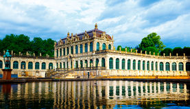 Zwinger in Dresden Stock Photography