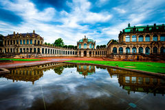 Zwinger in Dresden Stock Photo