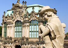 Zwinger in dresden Royalty Free Stock Image