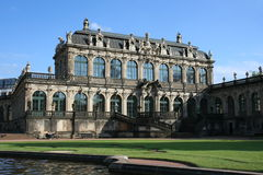 Zwinger in Dresden Germany Royalty Free Stock Photography