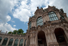 The Zwinger in Dresden, Germany royalty free stock photography