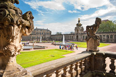 Zwinger in Dresden, Germany Royalty Free Stock Photography