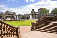 Zwinger in Dresden, Germany Stock Photography
