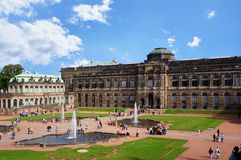 Zwinger - Dresden, Germany Royalty Free Stock Photo