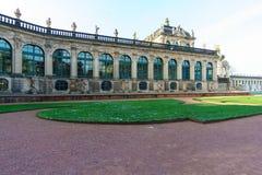 Zwinger Dresden inside obrazy stock