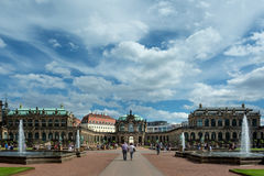 The Zwinger, Dresden Royalty Free Stock Photography