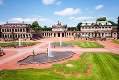 Zwinger,  Dresden Royalty Free Stock Photo