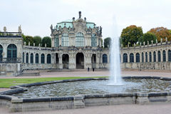 The Zwinger of Dresden, Saxony, Germany Stock Photos