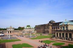 Zwinger - Dresden, Tyskland Royaltyfri Fotografi