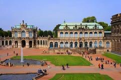 Zwinger - Dresden, Tyskland Arkivbilder
