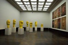 Zwinger - exposição do G. Baselitz imagens de stock royalty free
