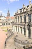 Zwinger francese Dresda del padiglione Fotografie Stock Libere da Diritti