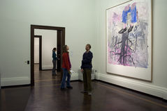 Zwinger  - G. Baselitz exhibition Stock Photo