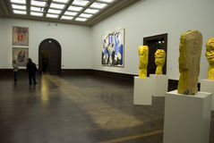Zwinger  - G. Baselitz exhibition Stock Photography