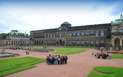 Zwinger galley - museum in Dresden royalty free stock image