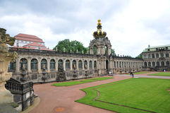 Zwinger galley - museum in Dresden Royalty Free Stock Photography