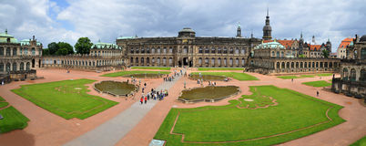 Zwinger galley -panorama Royalty Free Stock Image