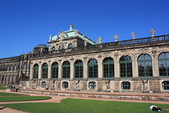 Zwinger Museum Dresden, Germany Royalty Free Stock Photography