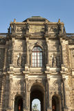 Zwinger Museum in Dresden, Germany Stock Images