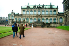 Zwinger museum in Dresden. Germany Royalty Free Stock Photography