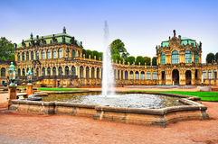 Zwinger museum in Dresden Royalty Free Stock Photography