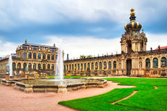 Zwinger museum in Dresden Stock Photography