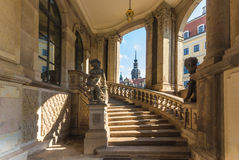 Zwinger museum- Dresden, Germany royalty free stock photos