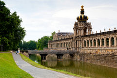 Zwinger museum Royalty Free Stock Photo