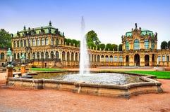 Zwinger museum i Dresden Royaltyfri Fotografi