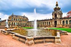 Zwinger museum i Dresden Royaltyfria Foton