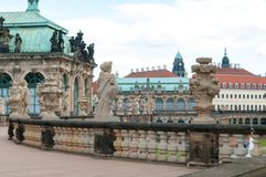Zwinger Museum Royalty Free Stock Image