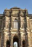 Zwinger muzeum w Drezdeńskim, Niemcy obrazy stock