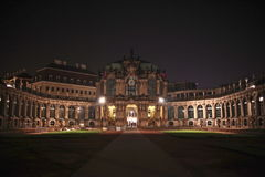 Zwinger at night Stock Photos