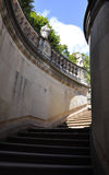 Zwinger Nymphs Bath Pavilion stairs from Dresden in Germany Royalty Free Stock Photography