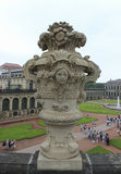 Zwinger pałac Drezdeński, Niemcy Fotografia Stock