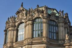Zwinger pałac w Drezdeńskim, Niemcy. fotografia stock