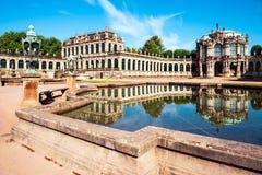 Zwinger pałac w Drezdeńskim, Niemcy zdjęcie royalty free